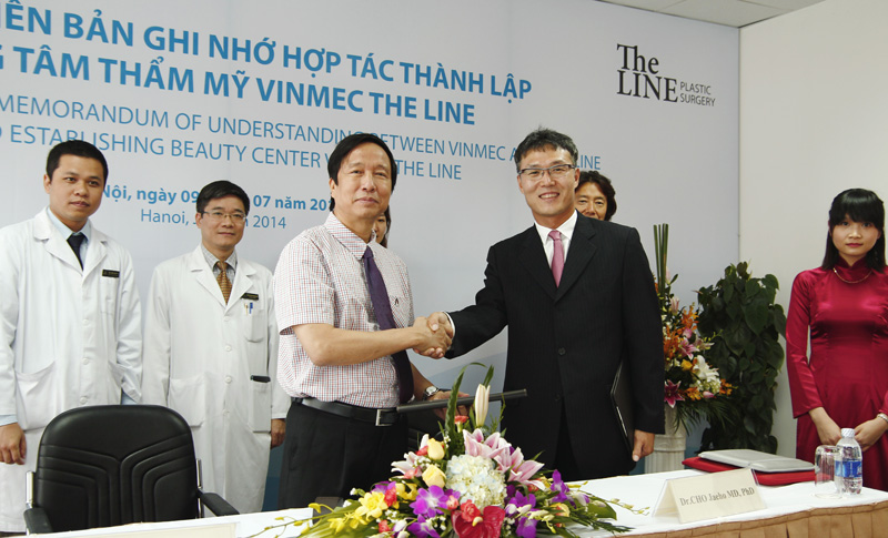 Vinmec and The Line have signed MOU